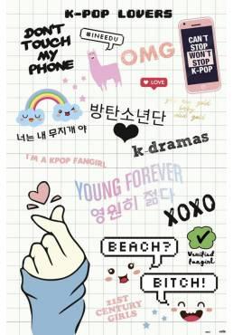Poster K POP Lovers (POSTER 61 x 91,5)