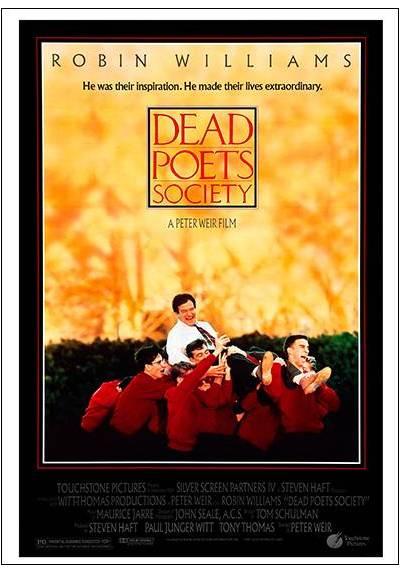 El Club de los Poetas Muertos - Dead Poets Society (POSTER 32x45)