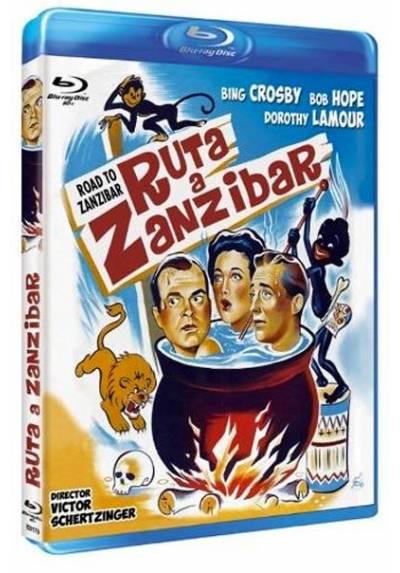 Ruta a Zanibar (Blu-ray) (Bd-R) (Road to Zanzibar)