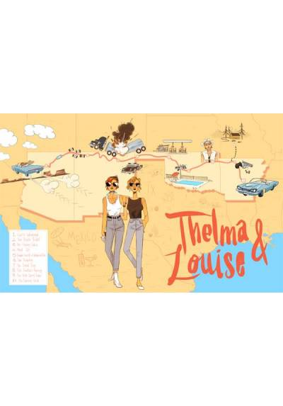 Thelma y Louise - Horizontal (POSTER 45x32)