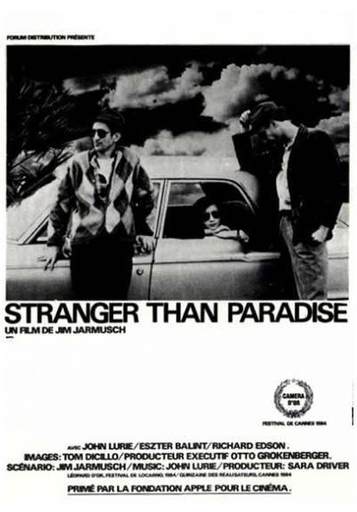 Extraños en el Paraíso (POSTER 32x45)