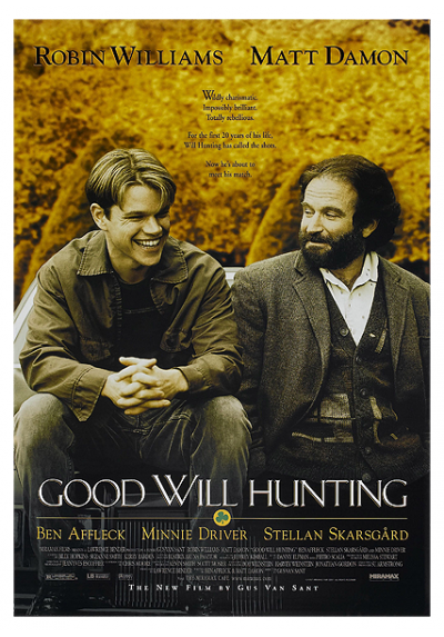 El Indomable Will Hunting (POSTER 32x45)