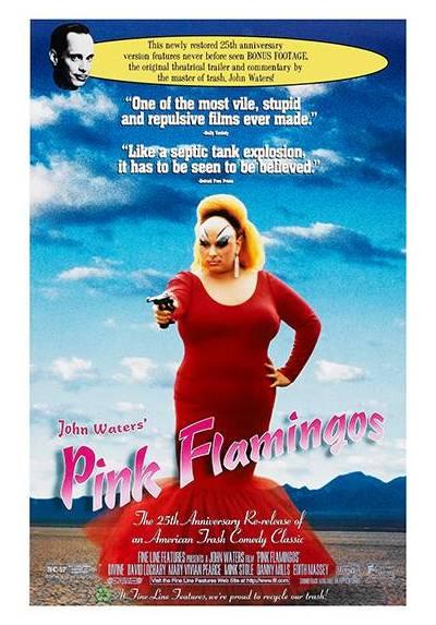 Pink Flamingos (POSTER 32x45)