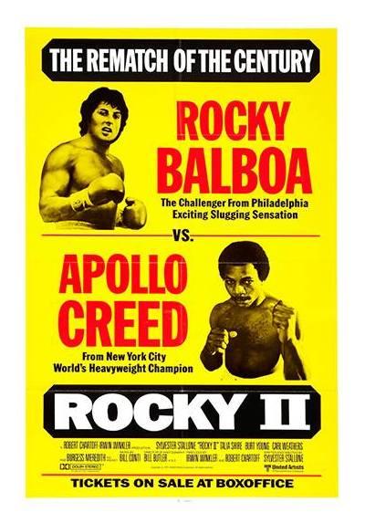 Rocky II - Rocky contra Apollo (POSTER 32x45)
