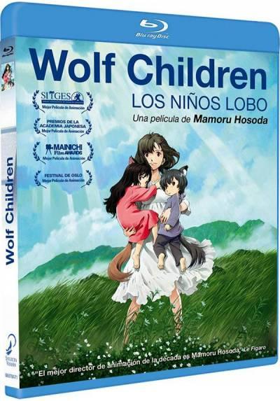 Wolf Children (Blu-Ray) (Los Niños Lobo)