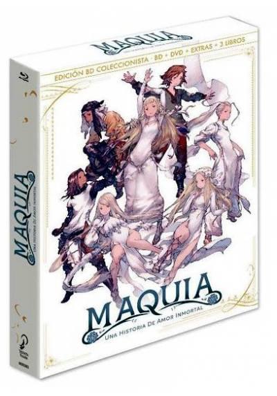 Maquia, una historia de amor inmortal (Blu-ray) (Sayonara no Asa ni Yakusoku no Hana o Kazarō)