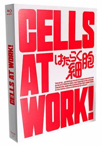 Cells At Work! (Blu-ray) (Vol. 1 + 2 Serie Completa)