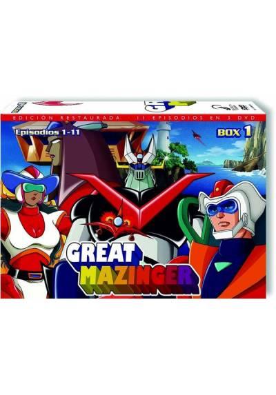 Great Mazinger Box 1