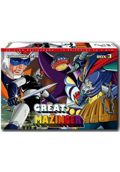 Great Mazinger Box 3