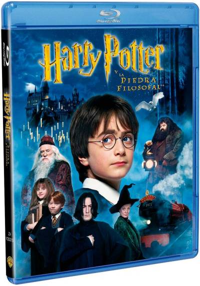 Harry Potter Y La Piedra Filosofal (Blu-Ray) (Harry Potter And The Sorcerer'S Stone)