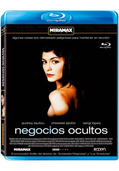 Negocios Ocultos (Blu-Ray) (Dirty Pretty Things)