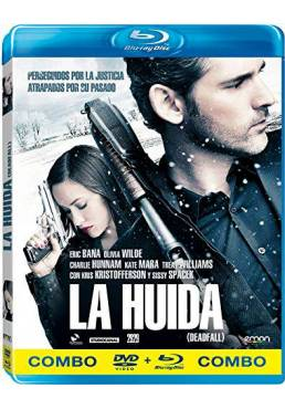 La Huida (2012) (Blu-Ray + DVD) (Deadfall)