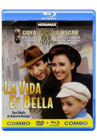 La Vida Es Bella (Blu-Ray + DVD) (La Vita E Bella)