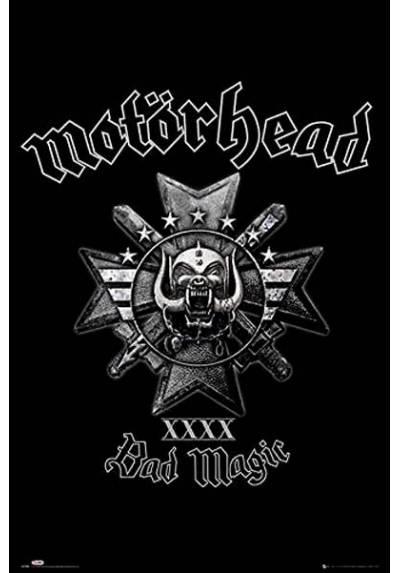 Poster Motorhead (Bad Magic) (POSTER 61 x 91,5)