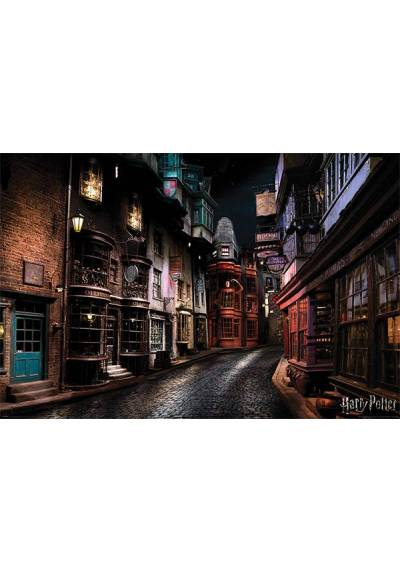 Poster Harry Potter - Diagon Alley (POSTER 91,5 x 61)