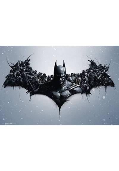 Poster Origenes de Batman - Murcielagos de Arkham (POSTER 91,5 x 61)