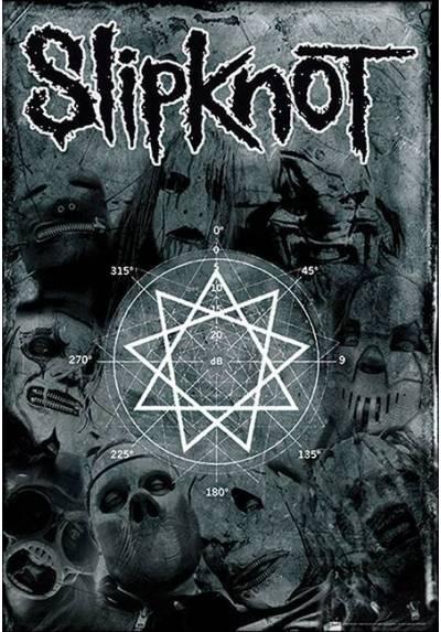 Poster Slipknot - Pentagrama (POSTER 61 x 91,5)