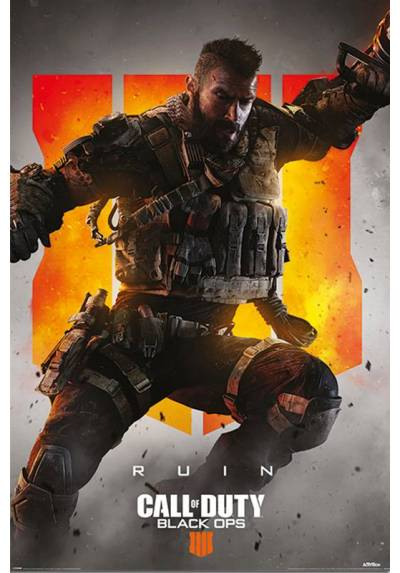 Poster Call Of Duty Black Ops 4 - Ruin (POSTER 61 x 91,5)