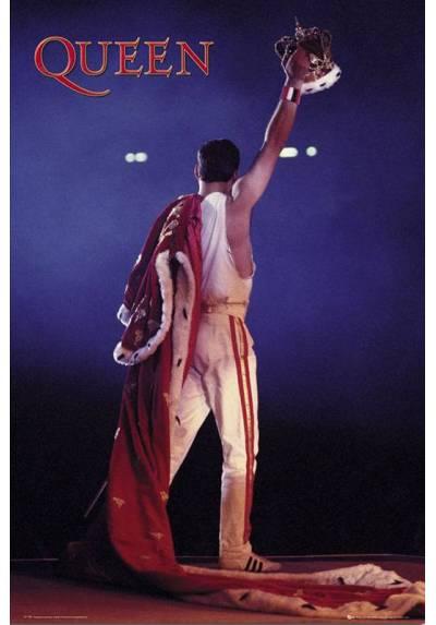 Poster Queen (Corona - Freddie Mercury) (POSTER 61 x 91,5)