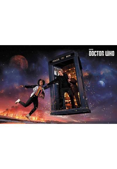 Poster Doctor Who - Temporada 10 (POSTER 91,5 x 61)