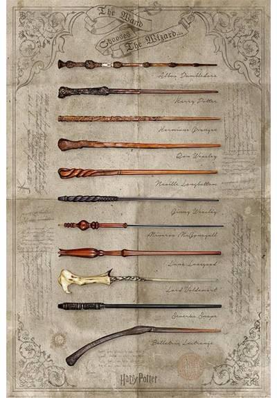 Poster Harry Potter - La Varita del Mago (POSTER 61 x 91,5)