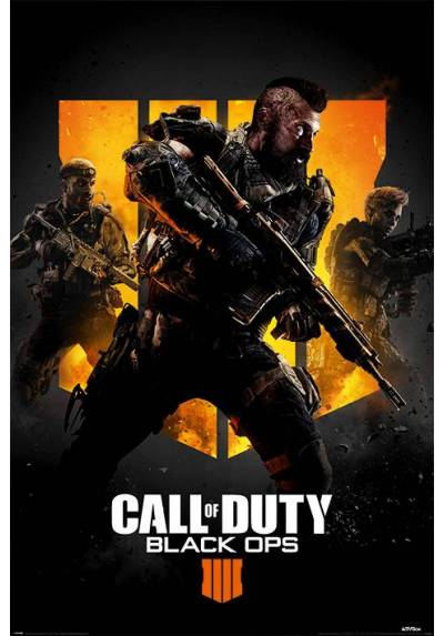 Poster Call Of Duty Black Ops 4 - Tavo Rojas (POSTER 61 x 91,5)