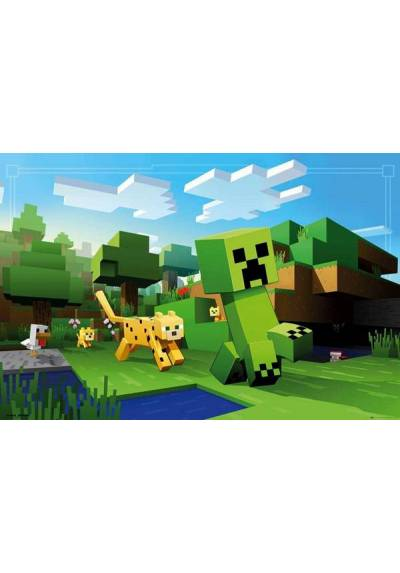 Poster Minecraft - Ocelot Chase (POSTER 91,5 x 61)