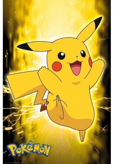 Poster Pokemon - Pikachu (POSTER 61 x 91,5)