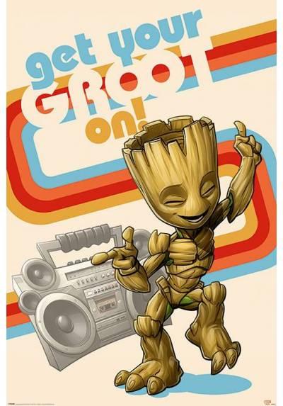 Poster Guardianes de la Galaxia - Groot (POSTER 61 x 91,5)