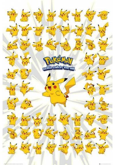 Pokemon - Pikachu II  (POSTER 61 x 91,5)
