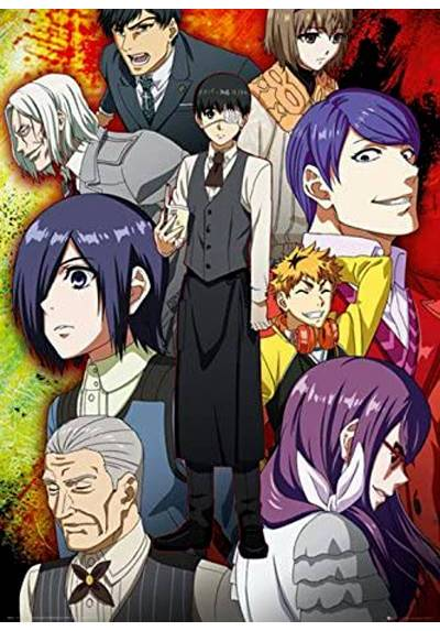 Poster Tokyo Ghoul - Grupo (POSTER 61 x 91,5)