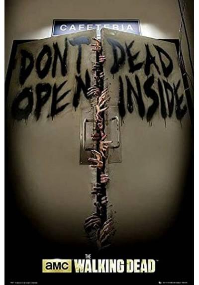 Poster The Walking Dead - Si abres estas muerto  (POSTER 61 x 91,5)