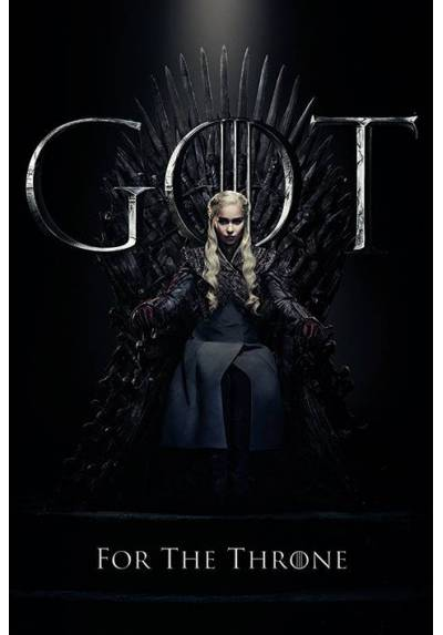Poster Juego de Tronos - Daenerys Targaryen (POSTER 61 x 91,5)