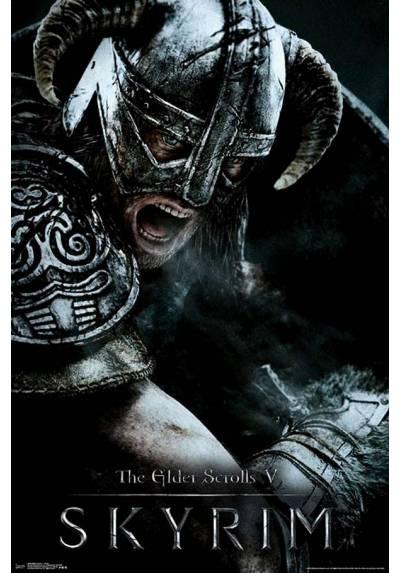 Poster The Elder Scrolls V: Skyrim (POSTER 61 x 91,5)
