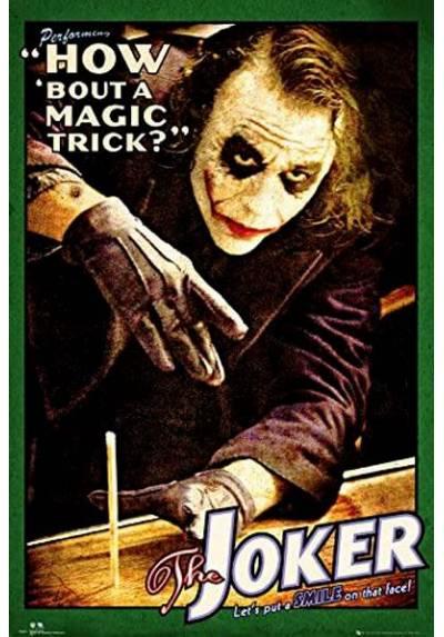 Poster Batman - Truco de Magia del Joker del Caballero Oscuro (POSTER 61 x 91,5)