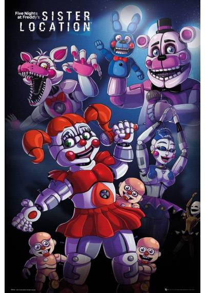 Poster Five Nights At Freddy's (POSTER 61 x 91,5)