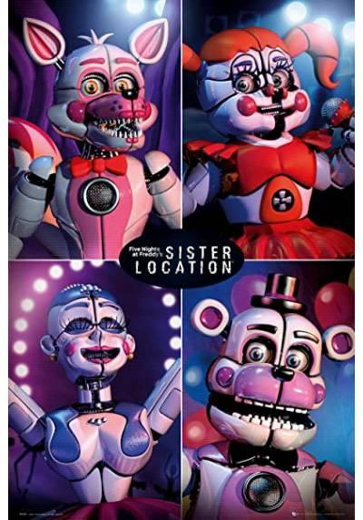 Poster Five Nights At Freddy's - La Hermana Quad (POSTER 61 x 91,5)
