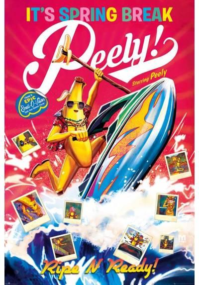 Poster Fortnite - Spring Break Peely (POSTER 61 x 91,5)