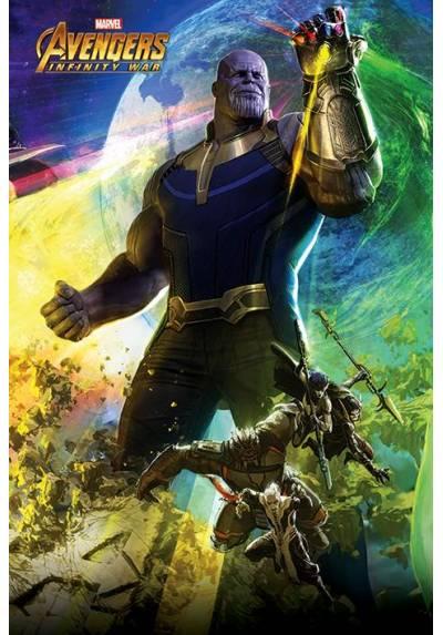 Poster Avengers Infinity War - Thanos (POSTER 61 x 91,5)
