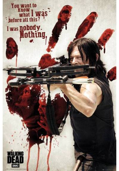 Poster The Walking Dead - Daryl (POSTER 61 x 91,5)