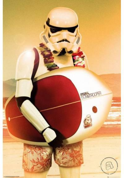 Poster Star Wars - Stormtrooper Surf (POSTER 61 x 91,5)