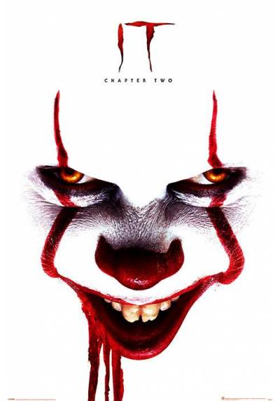 Poster It Capitulo 2 - Cara de Pennywise (POSTER 61 x 91,5)