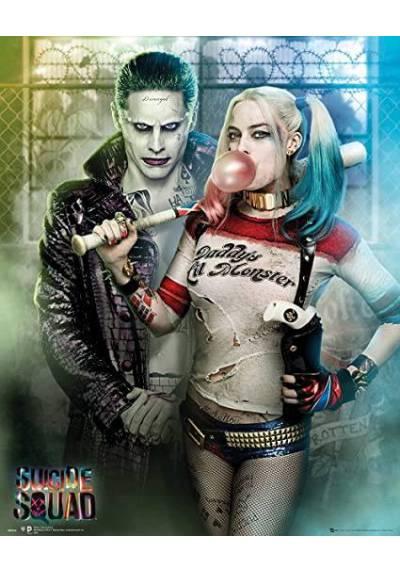 Poster Escuadron Suicida - Joker y Harley Quinn (POSTER 61 x 91,5)