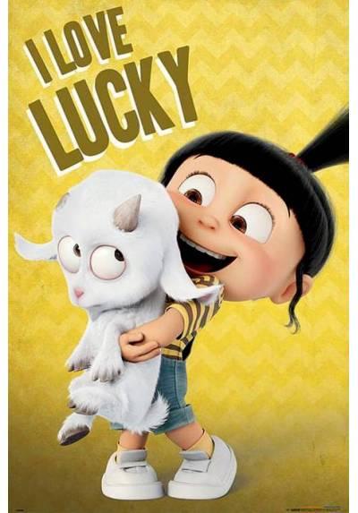 Poster Mi Villano Favorito 3 - Te Quiero Lucky (POSTER 61 x 91,5)