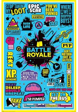 Poster Battle Royale - Batalla Real (POSTER 61 x 91,5)