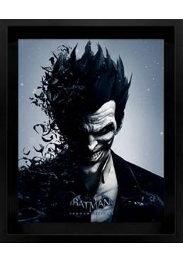 Cuadro Holagrafico de Joker (Cuadro 29 X 25 X 5)