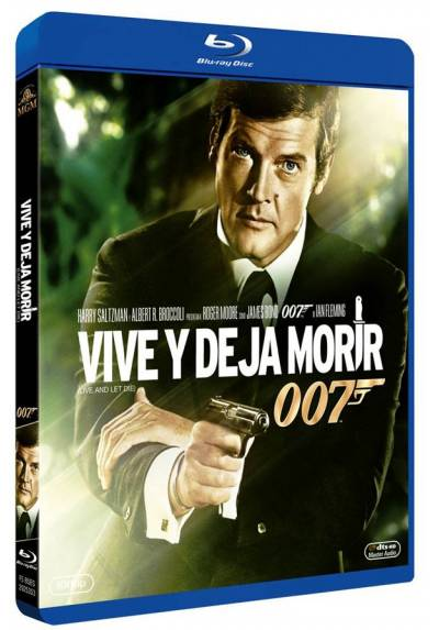 007: Vive y deja morir (Blu-ray) (Live and Let Die)