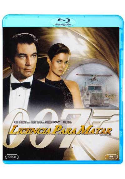 007: Licencia para matar (Blu-ray) (Licence to Kill)