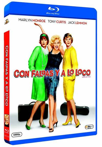 Con faldas y a lo loco (Blu-ray) (Some Like It Hot)