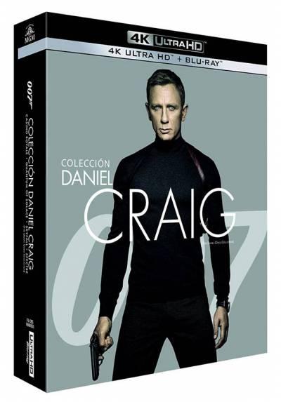 Pack Colecccion Daniel Craig (4K Ultra HD Blu-ray)